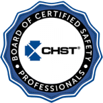 Construction Safety and Health Technician Logo known as CSHT certification